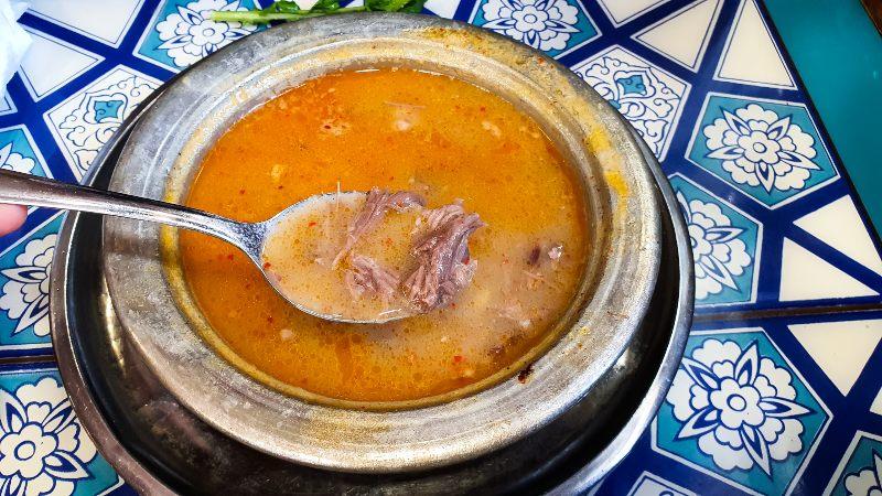 beyran soup sopa que comer en estambul