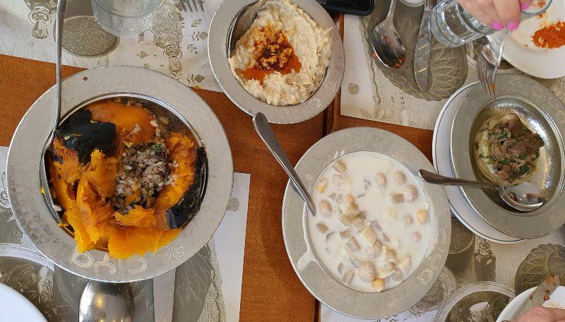 comida de anatolia que comer en Estambul