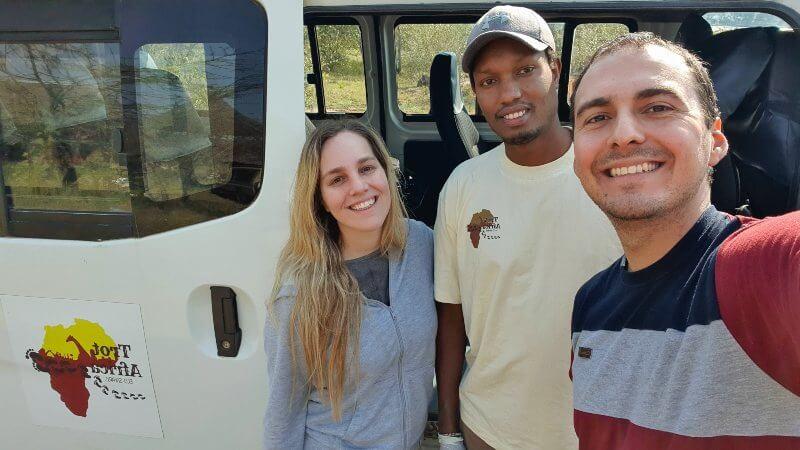 con James nuestro guía - Safari por Kenia