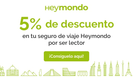 seguro de viaje Hey Mondo