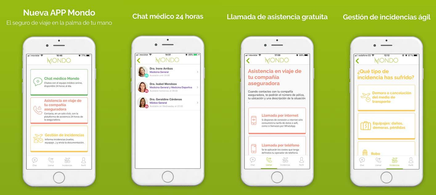 el mejor seguro de viaje con app en español