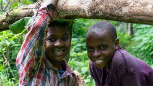 tribu de los Chaga en Tanzania