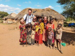 tribu masai y boma en Longido