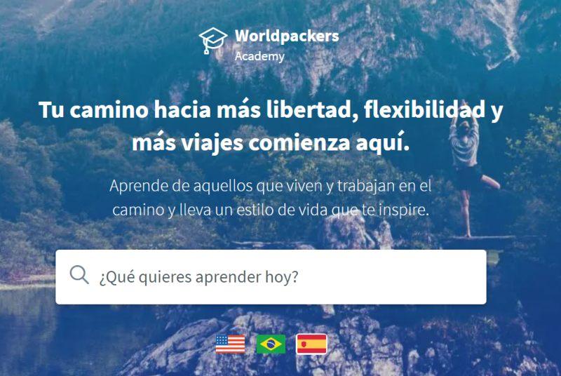 Worldpackers Academy qué es