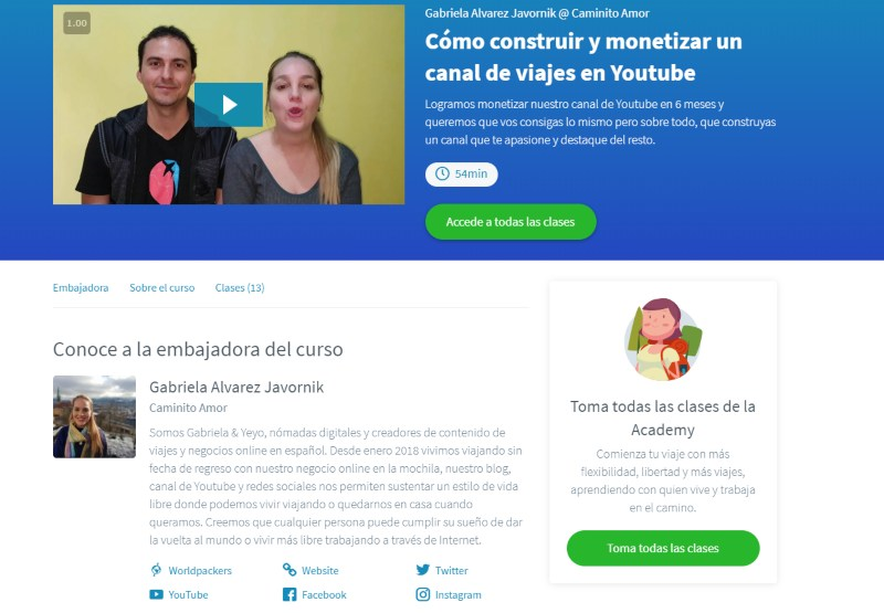 cómo monetizar Youtube curso