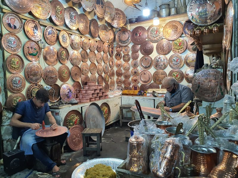 Bazar en Sanliurfa casco histórico