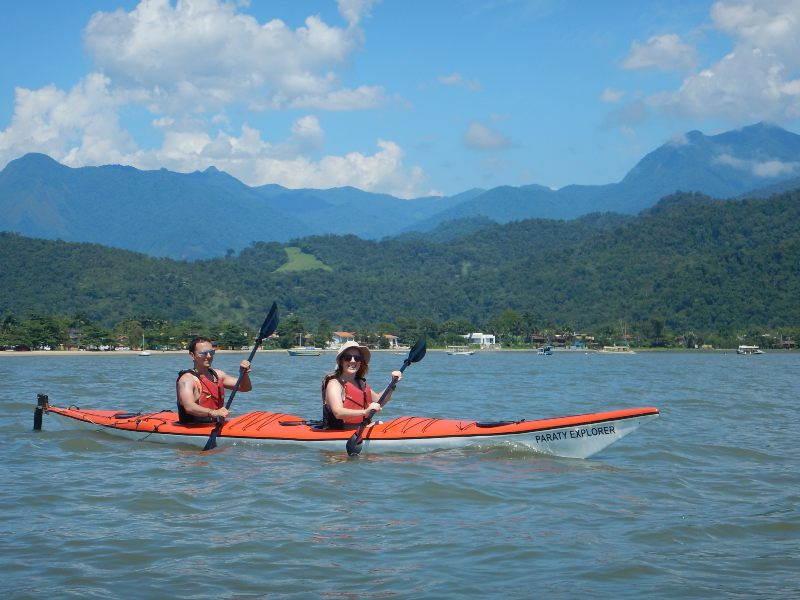 qué visitar en Paraty - paseo kayak manglares