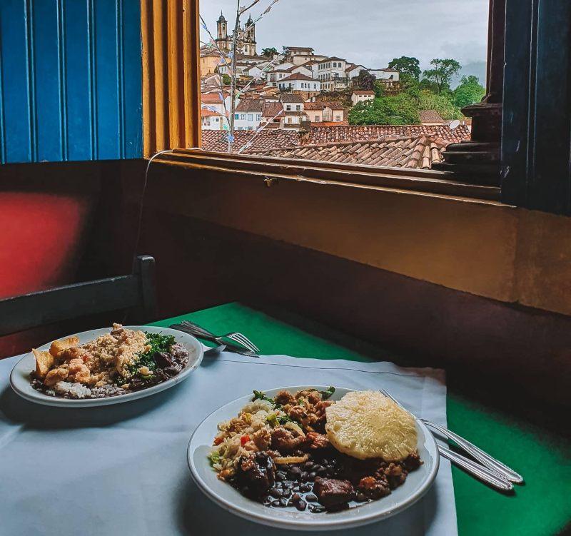 dónde comer en Ouro Preto
